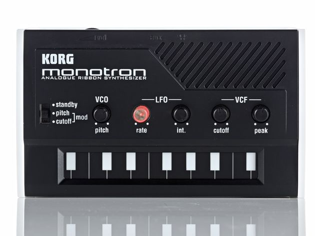 An analogue Korg synth - it's been a while.