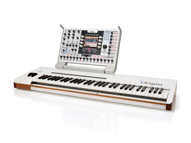 The Origin hooked up to a keyboard forms a new performance heavyweight.