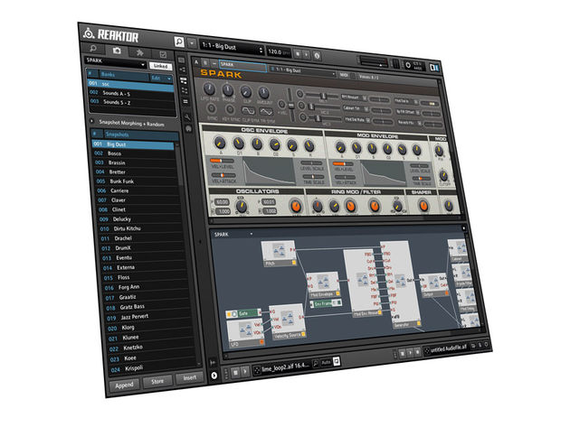 Native Instruments Reaktor 5.5 (€379)