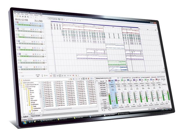 Sony Creative Software ACID Music Studio 8 (£50)