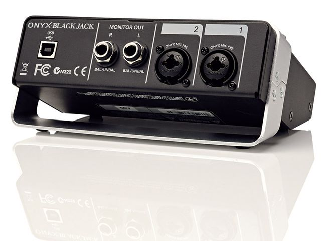 With jack/XLR inputs and phantom power available all inputs are catered for.