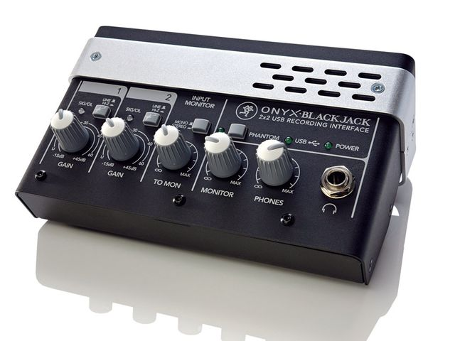 The Onyx preamps offer fantastic sound quality.