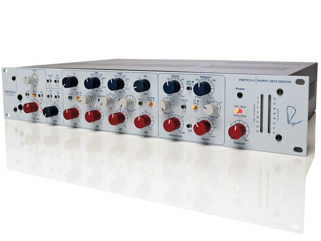 The Portico II provides stunning audio quality, and hugely impressive EQ versatility.
