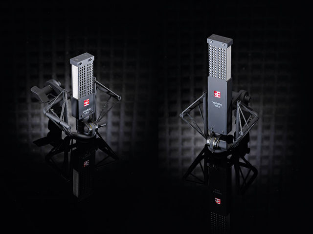 SE Electronics VR1 & VR2 Voodoo Ribbon Mics (from £619)
