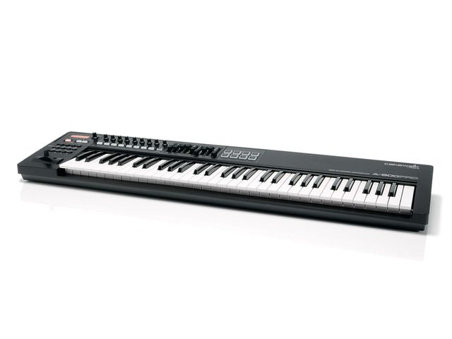 Good keyboard action and an impressive control set make the A-800 a serious controller contender.