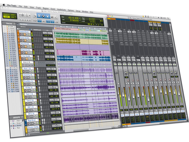 Apart from GUI improvements, Pro Tools' layout hasn't strayed far from the first version.