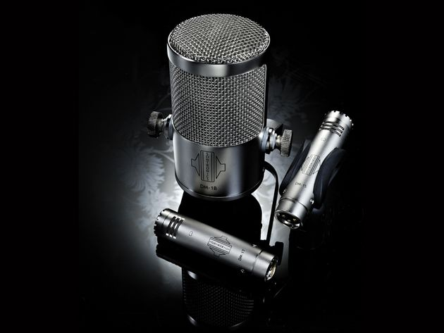 Sontronics DM Drum Mics (DM1S and DM1T £119, DM1B £299)