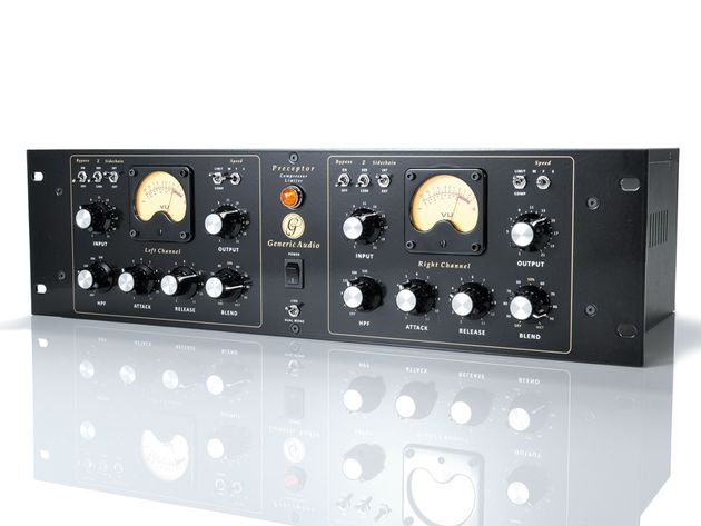 The Preceptor performs flawlessly as both a compressor and a limiter.