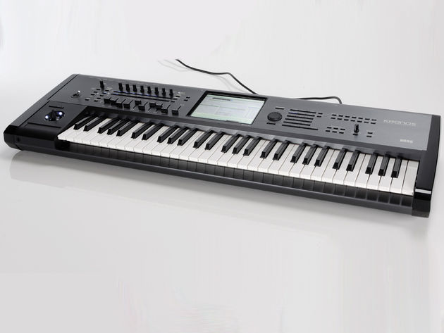 The Kronos is available in 61-, 73- and 88-key versions.