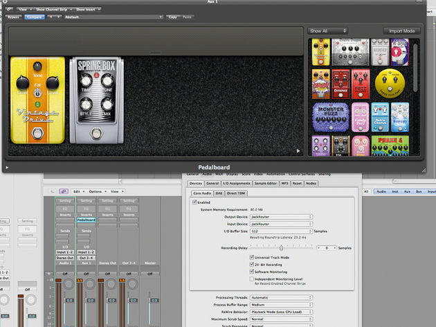The Mixbus currently supports AU and Linux plug-ins.