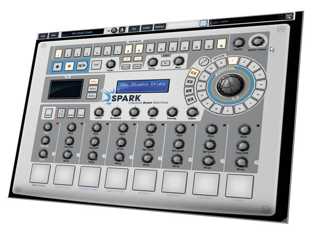 Spark's software end allows deeper instrument editing and sequencing.
