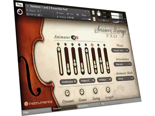 Native Instruments Session Strings Pro (€299)
