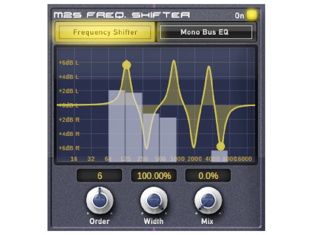 The frequency shifter is one of the bundle's most original features.