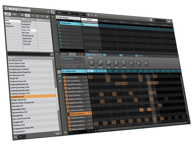 Maschine Drum is one of Kontakt's beat-based libraries.