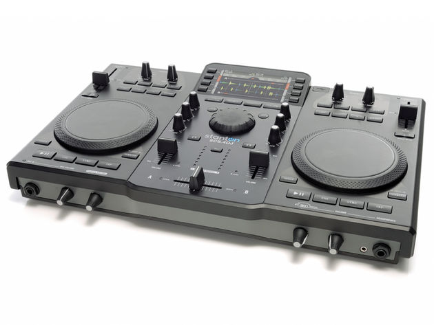 The SCS.4DJ's sparse, simple layout is easy to get to grips with.