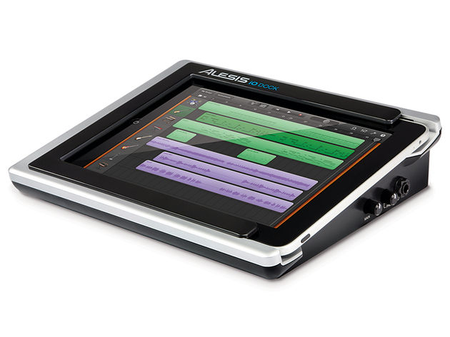 The Alesis iO Dock offers a solid platform for putting your iPad to work.