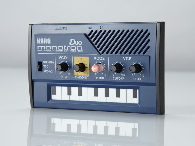 The Duo is all about the cross-modulation, inspired by Korg's classic early '80s Mono/Poly synth.
