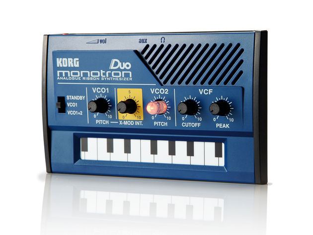 Korg has included the ribbon modes introduced on the Monotribe, making it easy to hit the right note.