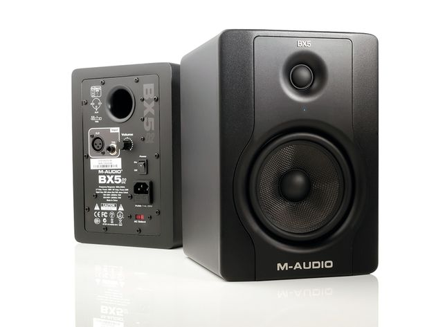 M-Audio's BX5 D2 monitors perform superbly for compact speakers.
