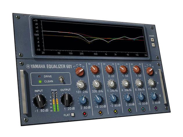 The Vintage Channel Strip combines a six-band EQ with two compression plug-ins.