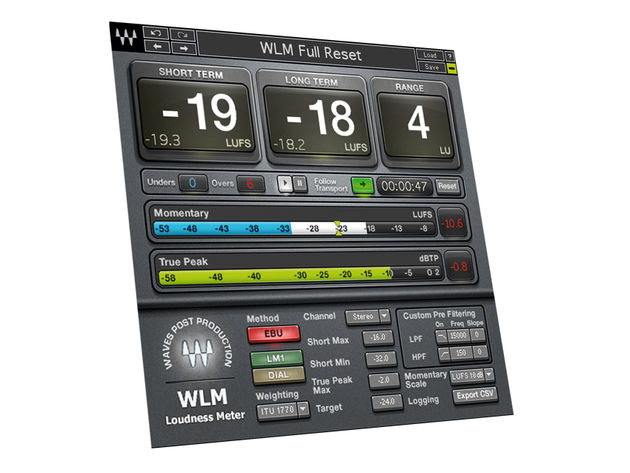 Waves Loudness Meter ($299)