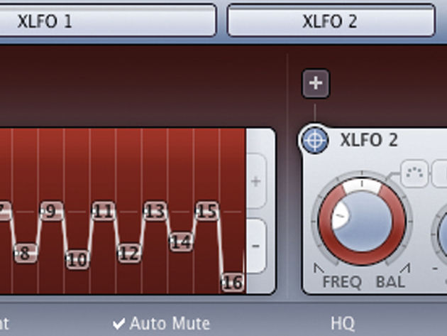 FabFilter's modulation system enables you to assign modulators to as many controls as you wish - and up to 50 on any one control.