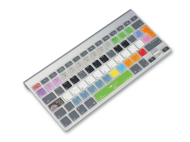 Logic Café's  ControlSkin is great for music control, not so hot for typing.