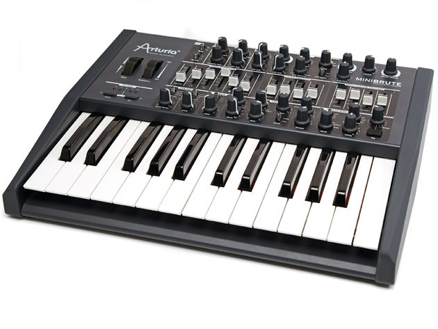 The Arturia MiniBrute features two  LFOs - one dedicated to vibrato another more flexible for broader modulation duties. It can also synchronise itself with the arpeggiator.