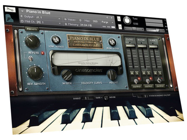 Cinesamples Piano In Blue ($129)