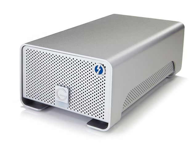 The G-Raid Thunderbolt 4TB promises a staggering 10GB per second transfer speed.