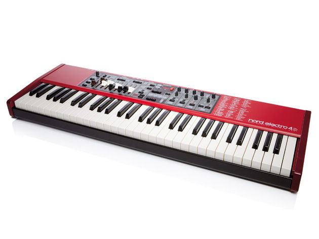 Nord's latest incarnation of the Electro now features real drawbars and a new organ engine
