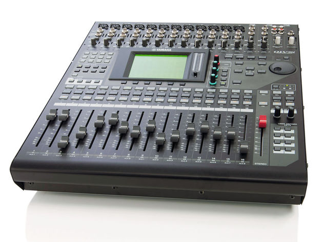 A 40-channel digital mixing console capable of recording resolutions up to 96kHz at 24-bit