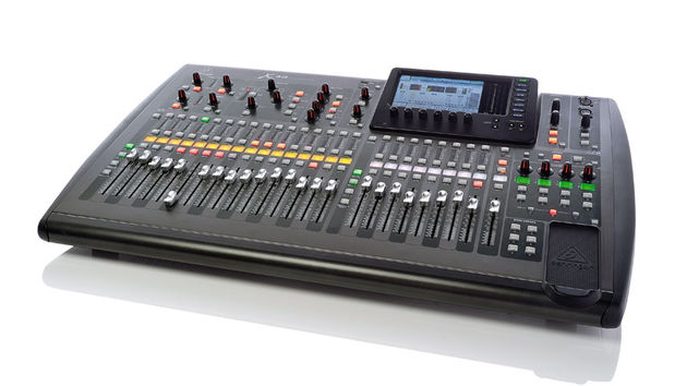 Once out of its substantial packaging the X32 is nicely sized - smaller and lighter than most analogue 32 channel mixers