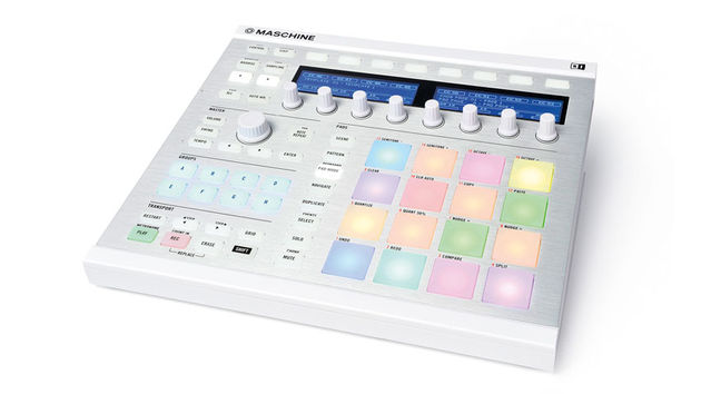 The most apparent change to Maschine mkII is the new RGB backlit pads and buttons