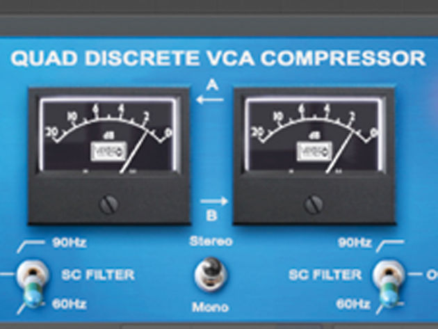 The VSC-2 can compress stereo channels individually.