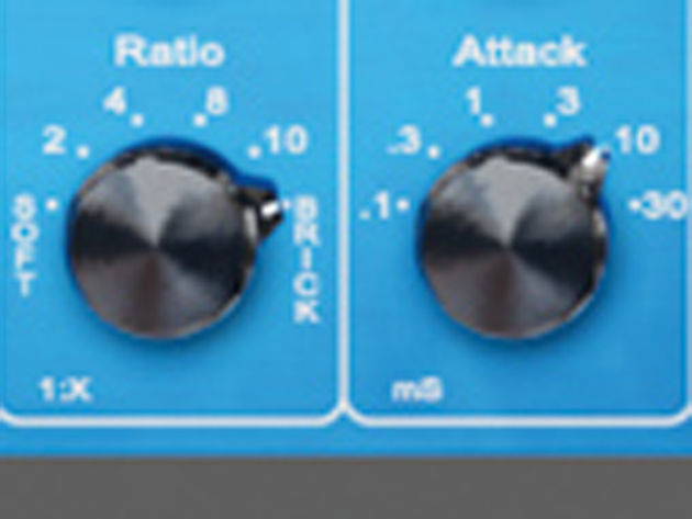 The fixed settings are all but identical to the SSL Buss Compressor, among others.