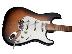 We play a genuine '54 Fender Stratocaster