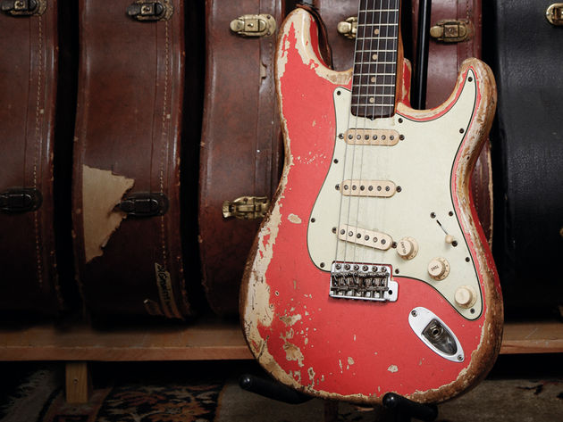 Old gold: '63 Fender Stratocaster