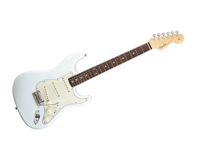 Sonic blue Fender Statocaster
