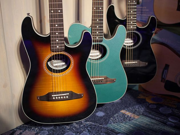 Fender Stratacoustic & Telecoustic