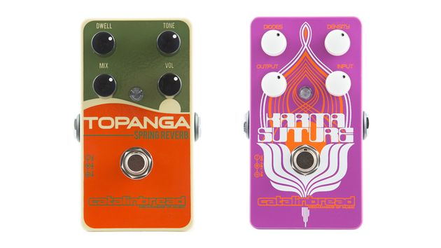 Here's the Topanga Spring Reverb and the Karma Suture in all their pedal-y glory.