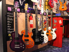 NAMM 2014: Charvel stand in pictures