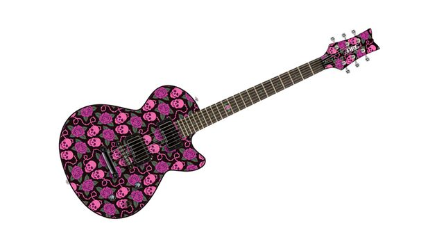 And finally here's the Skulls And Roses electric. Rock and roll...