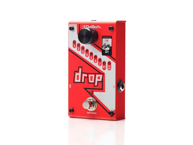 Drop polyphonic drop tune pedal