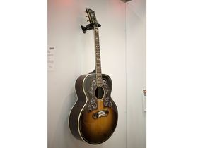 NAMM 2014: Gibson shows Bob Dylan SJ-200 model