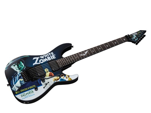 Kirk Hammett LTD KH-WZ White Zombie