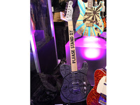 NAMM 2014: Fender Custom Shop Guitars stand in pictures