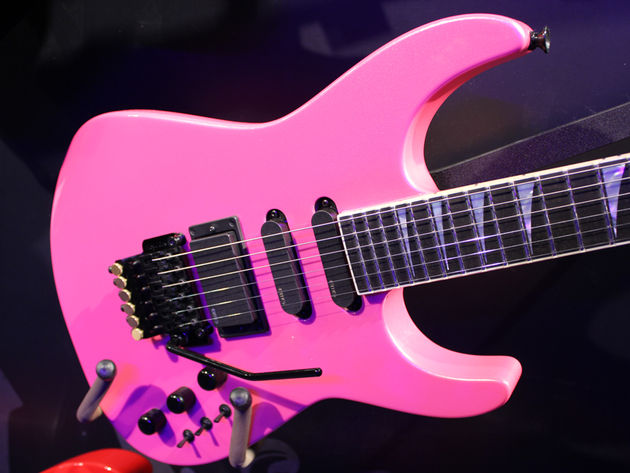 Jackson Limited Edition 30th Anniversary Soloist pink