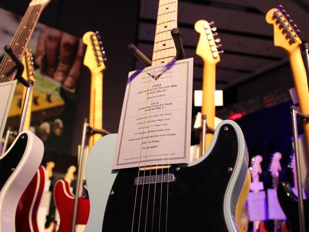 Fender Sonic Blue Telecaster