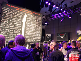 NAMM 2014: le stand Fender en photos